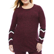 Hottotties Snowy Mountain Sweater Thermal Shirt