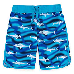 Arizona Boys Sharks Swim Trunks-Preschool