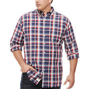 U.S. Polo Assn. Button-Front Shirt-Big and Tall