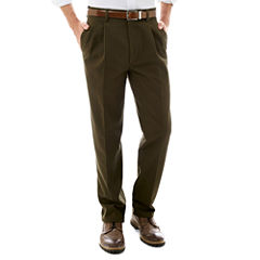 St. John's Bay® Worry Free Comfort-Ease Pleated Pants