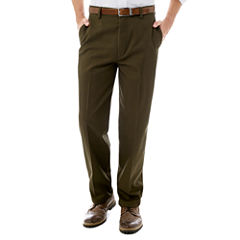 St. John's Bay® Worry Free Comfort-Ease Flat-Front Pants