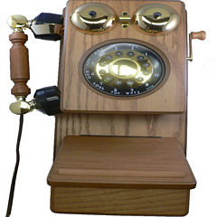 Golden Eagle 8705 Country Wood Phone