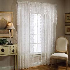 petite fleur rod pocket window treatments. beautiful ideas. Home Design Ideas