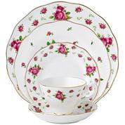 Royal Albert® White Vintage 5-pc. Place Setting