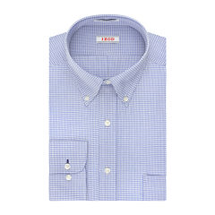 IZOD® Aqua Multi Plaid Dress Shirt - Big & Tall