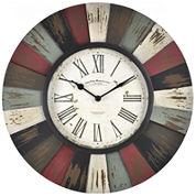 Reclaimed Burst Wall Clock