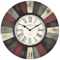 FirsTime® Reclaimed Burst Wall Clock