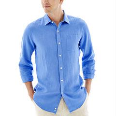 Claiborne® Long-Sleeve Linen Shirt