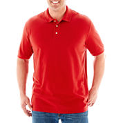 The Foundry Big & Tall Supply Co.™ Solid Piqué Polo