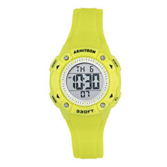 Armitron Womens Yellow Strap Watch-45/7081lgn
