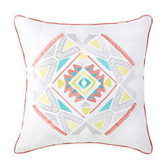 Intelligent Design Ava Square Throw Pillow