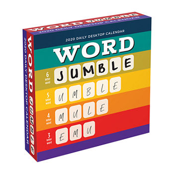 Tf Publishing 2020 Word Jumble Daily Desktop Calendar