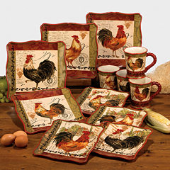 Certified International Tuscan Rooster Dinnerware Collection