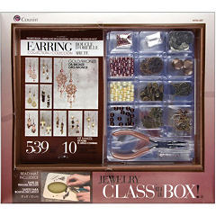 Cousin® Jewelry Class in a Box!- Gold/Bronze Earring Collection Kit
