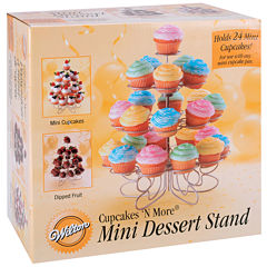 Cupcakes 'n More Mini Dessert Stand