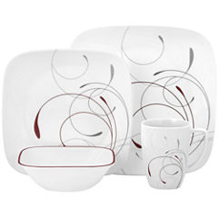 Corelle® Square™ Splendor 16-pc. Dinnerware Set