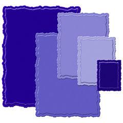 Shapeabilities™ Nestabilities® 5-pc. Deckled Large Rectangle Die Templates Set