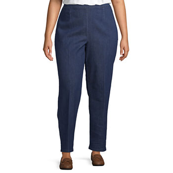 Alfred Dunner Greenwich Hills Classic Fit Pant Plus
