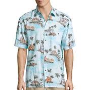 Island Shores Short Sleeve Rayon Camp Shirt