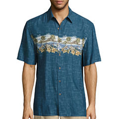 Island Shores Short Sleeve Rayon Camp Shirt