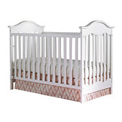 Fisher-Price® Charlotte Traditional Crib - White -Free Mattress with Purchase, See Product Page for Details