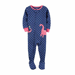 Carter'S Girls 1Pc Cotton Sleep Pajama Set
