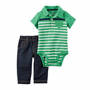 CARTER'S BOYS BODYSUIT PANT SET