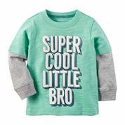 Carter's Boys Long Sleeve T-Shirt-Baby