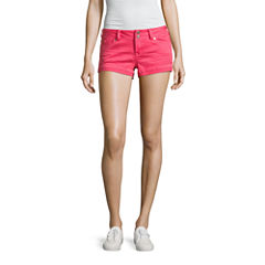 Wall Flower Fray Hem Shorts Juniors