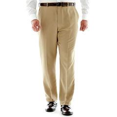 Stafford® Travel Microfiber Pants–Big & Tall