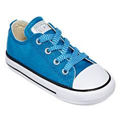 Converse® Chuck Taylor All Star Metallic Girl's Sneaker - Toddler