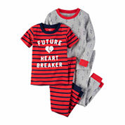 Carter'S Boys 4Pc Cotton Sleep