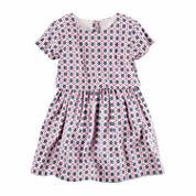 Carter's Girls Multi Stripe Dress