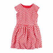 Carter's Long Sleeve A-Line Dress - Toddler