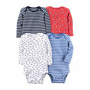 Carter's Boys 4-pc. Bodysuit Set-Baby