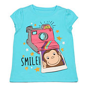 Short Sleeve T-Shirt-Toddler Girls