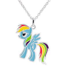 My Little Pony Rainbow Dash Pendant Necklace