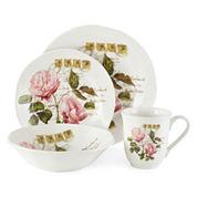 JCPenney Home™ Italian Roses 16-pc. Dinnerware Set