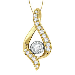 Sirena® ⅜ CT. T.W. Diamond Pendant Necklace
