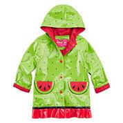 Wippette Watermelon Rain Jacket - Preschool Girls 4-6x