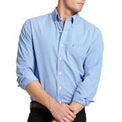 IZOD Button Long Sleeve Slim Essentials - Front Shirt
