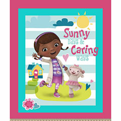 Doc Mcstuffins Sunny Caring Panel Fabric