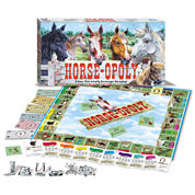 Horse-Opoly Board Game