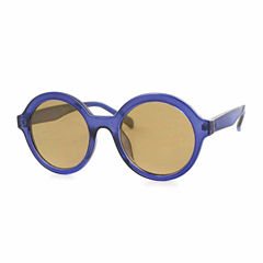 City Streets Full Frame Round UV Protection Sunglasses