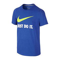 Nike® Swoosh Tee - Boys 8-20