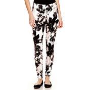Mixit™ Floral Print Knit Leggings