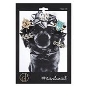 Decree® Crystal 5-pc. Ring Set
