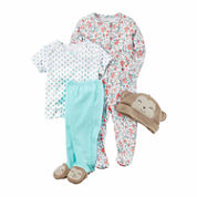 Carter's 4-pc. Pant Set Baby Girls