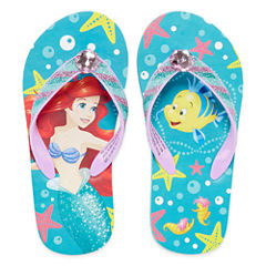 Disney Little Mermaid Ariel  Flip-Flops