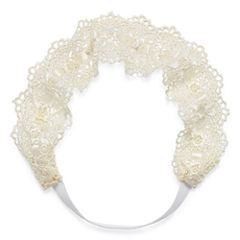 Decree® Ivory Lace Head Wrap